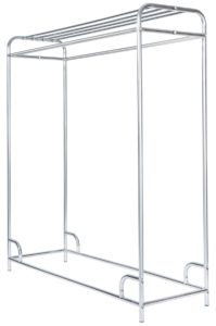 "60"" Chrome Plated Garment Rack-0"